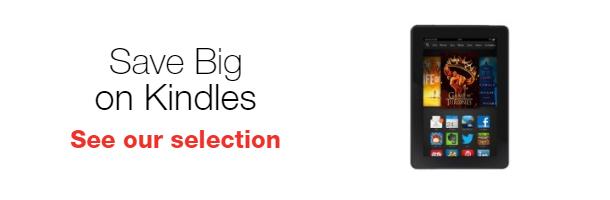 Save Big on Kindles