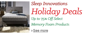 Sleep Innovations Holiday Deals