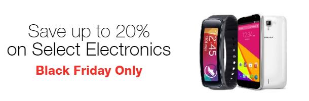 Save 20% on Select Electronics