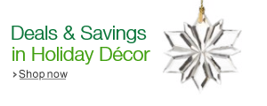 Savings and Deals in Holiday Decor