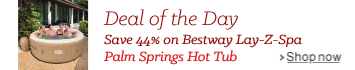 Deal of the Day - Bestway Lay-Z-Spa Palm Springs Hot Tub