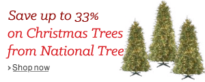 Up to 33% Off National Tree