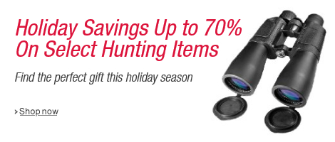 Save Up to 70% in Hunting