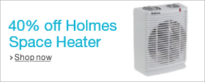Save on Holmes Space Heater