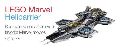 LEGO Marvel Helicarrier