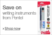 Save on Writing Instruments from Pentel