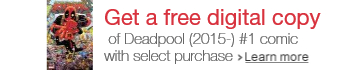 Deadpool Digital Comic Promo