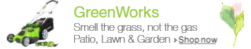 GreenWorks at Lawn & Garden Spring Event 2016