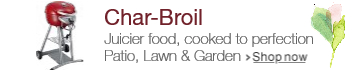 Char-Broil at Lawn & Garden Spring Event 2016