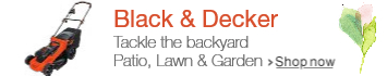 Black and Decker at Lawn & Garden Spring Event 2016