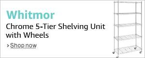 Whitmor 5-Tier Shelving Unit