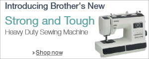 Introducing Brother's New Strong and Tough Sewing Machine