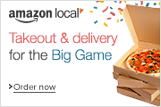Takeout and Delivery from Amazon Local