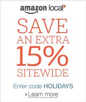 15% Off Amazon Local