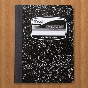Composition Book, College-Ruled