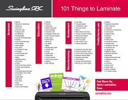 Things to Laminate