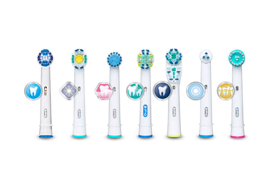 oral b pro white brush head