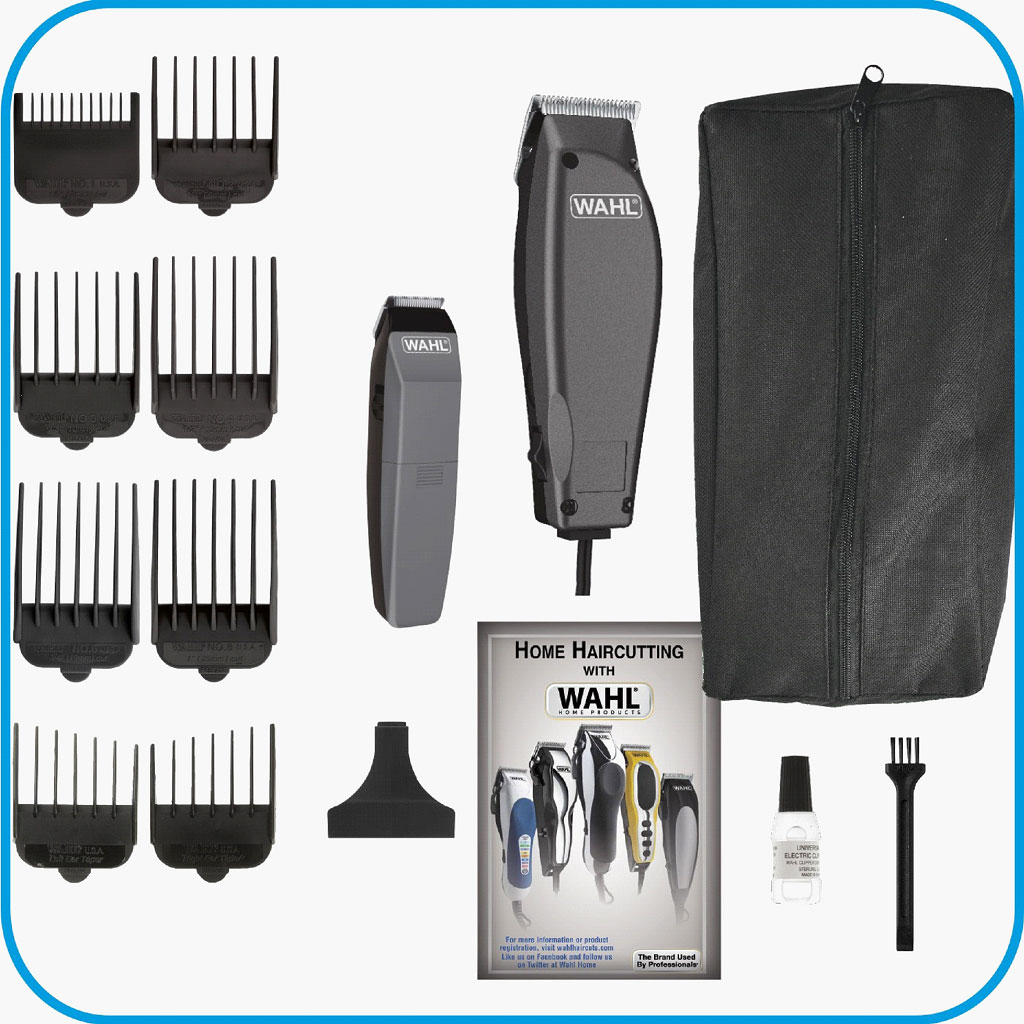 hair cutting styling kit beard trimmer machine multi corded clippers barber c. Black Bedroom Furniture Sets. Home Design Ideas