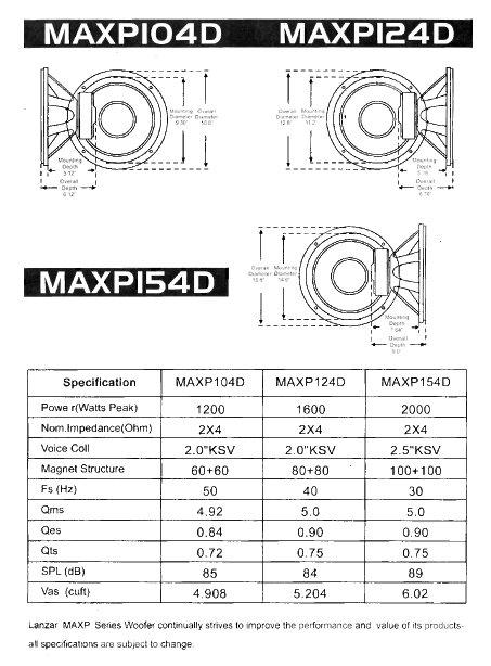 Amazon Com  Lanzar Maxp104d Max Pro 10
