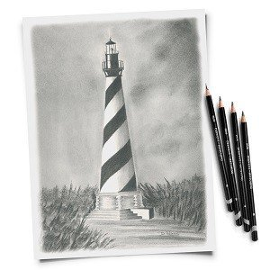 Sketch of lighthouse