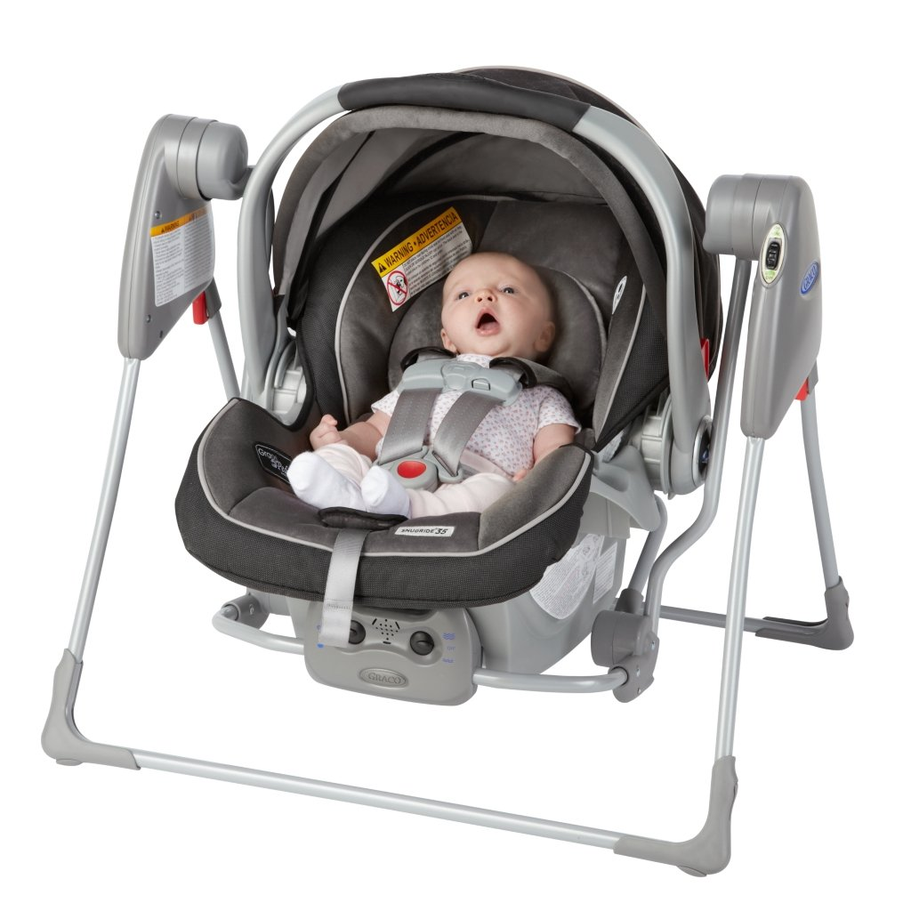 Amazon.com : Graco Baby SnugGlider Infant Car Seat Swing ...