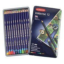 Inktense Pencils, 12-Ct.