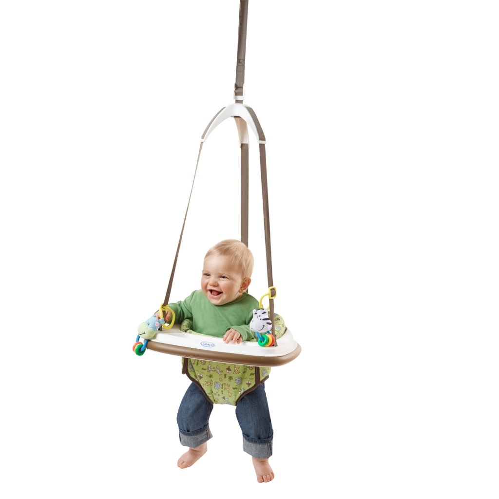 Amazon Com Graco Bumper Jumper Little Jungle Baby