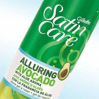 Satin Care Alluring Avocado Shave Gel