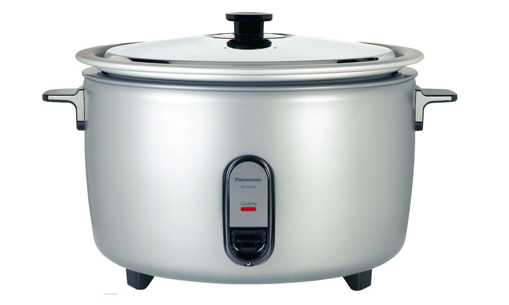Large-capacity commercial rice cooker can cook 40 cups of uncooked