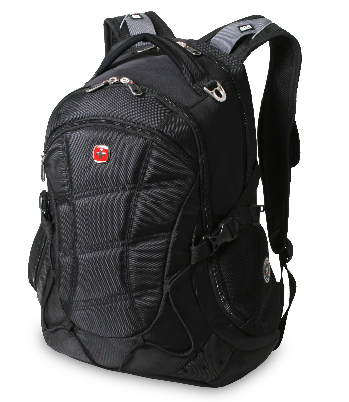 SwissGear Computer Backpack (Black) Fits Most 15.6