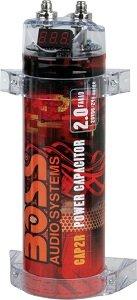 Boss CAP2B 2 Farad Capacitor Red