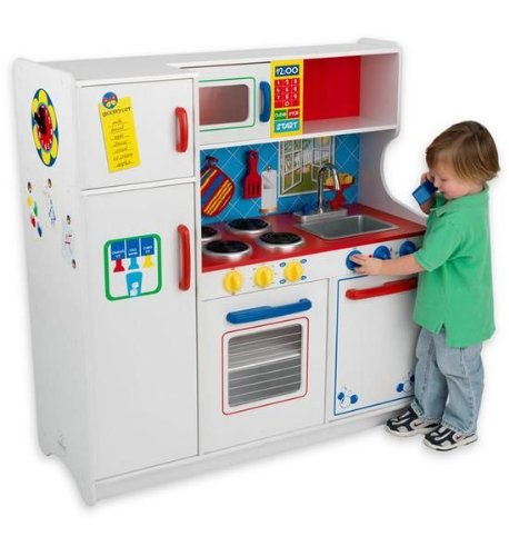 Kidkraft Deluxe Let 39 S Cook Kitchen Toys Games