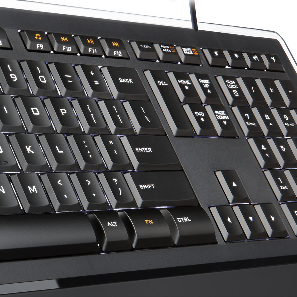 Amazon: Amazon.com: Logitech Illuminated Keyboard K740: Electronics