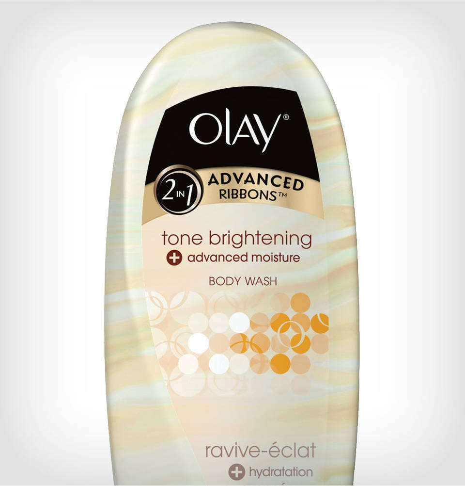 Amazon Com Olay 2 In 1 Advanced Ribbons Tone Brightening Advanced Moisture Body Wash 18 Oz