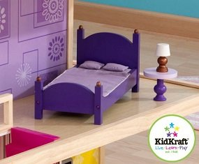 Includes 50 colorful pieces of matching furniture.