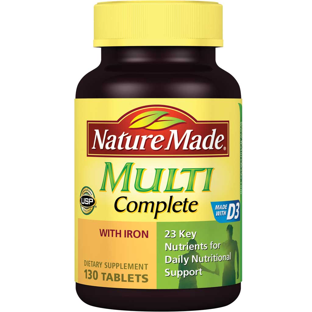 Natures Made Multivitamin With Iron