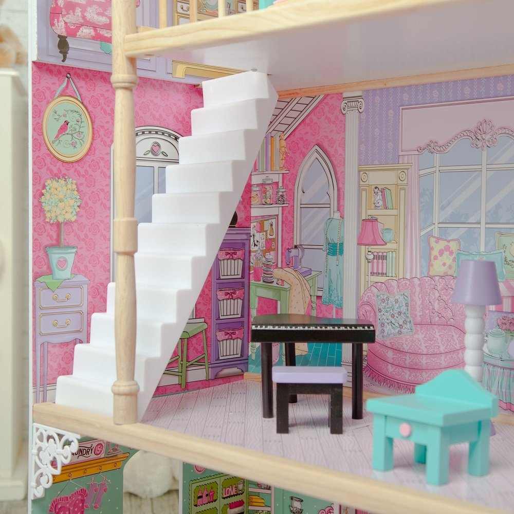 KidKraft Annabelle Dollhouse With Furniture Toys Games