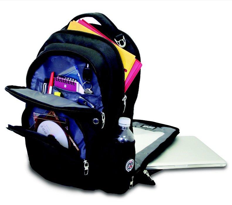 SwissGear SA1908 ScanSmart Backpack (Black) Fits Most 17 Inch ...