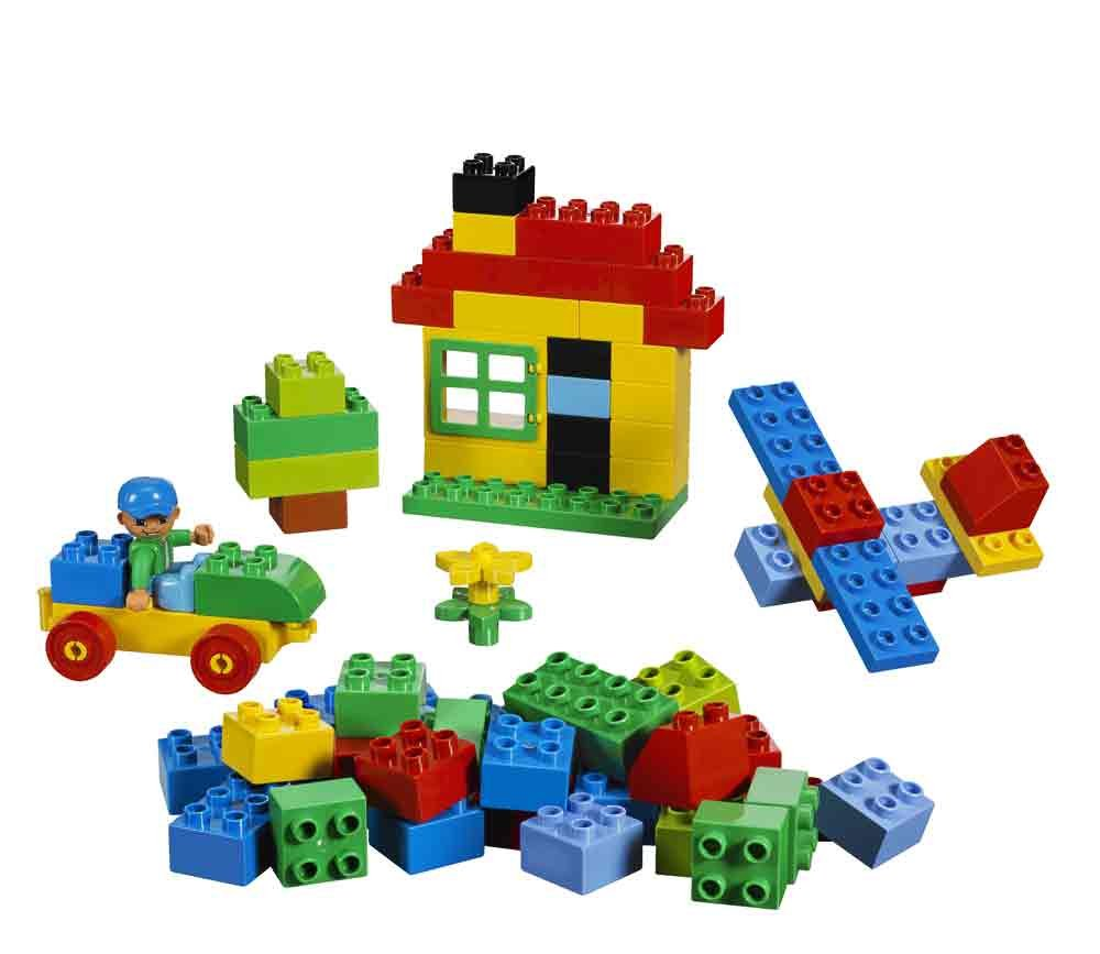 Amazon.com: LEGO Duplo Building Set-71 pieces (5506): Toys ...