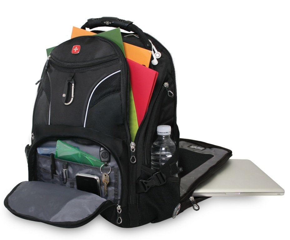 SwissGear SA1923 ScanSmart Backpack - Black: Amazon.ca: Computers ...