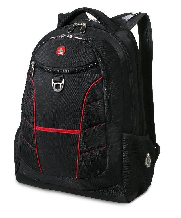 Amazon.com: SwissGear Laptop Computer Backpack SA1775 (Black with Red