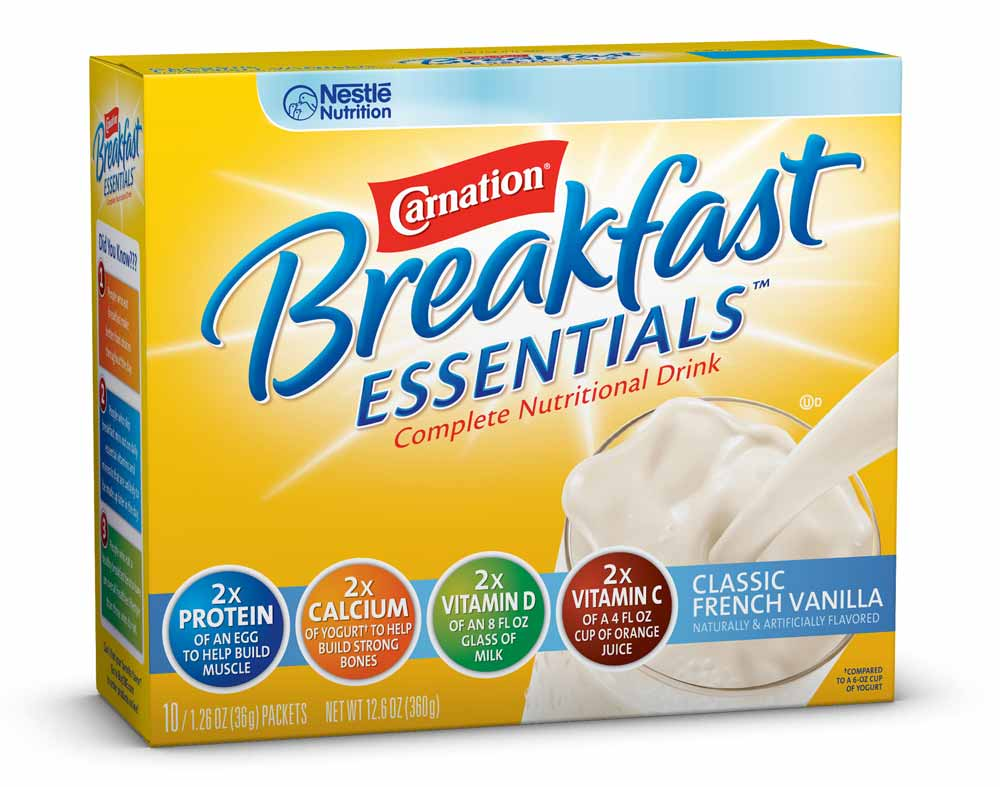 Amazon.com : Carnation Breakfast Essentials, Classic French Vanilla