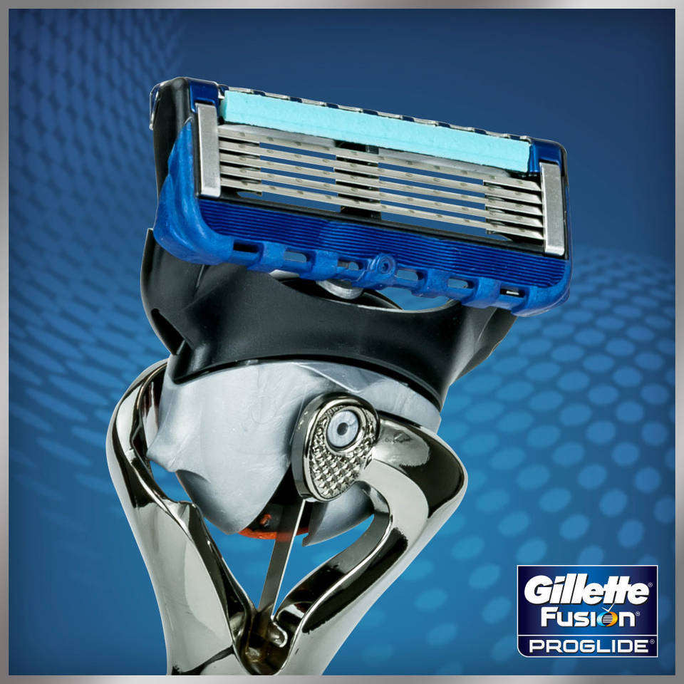 Gillette fusion proglide manual razor with flexball technology - View Larger Gillette S Best Blades Are Now 2x Preferred When Used With The Fusion Proglide Handle With Flexball Technology
