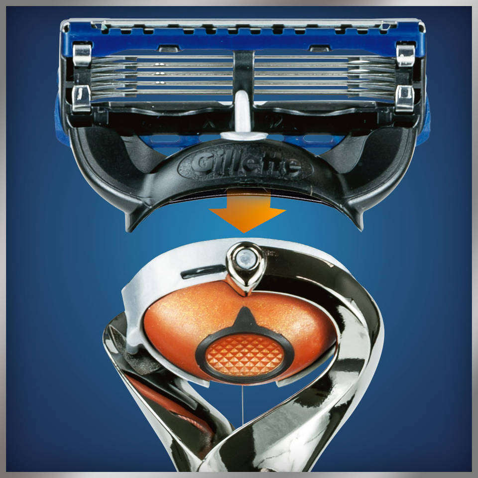Gillette fusion proglide manual razor with flexball technology - View Larger Fits Flexball Technology Handle