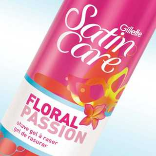 Satin Care Floral Passion Shaving Gel