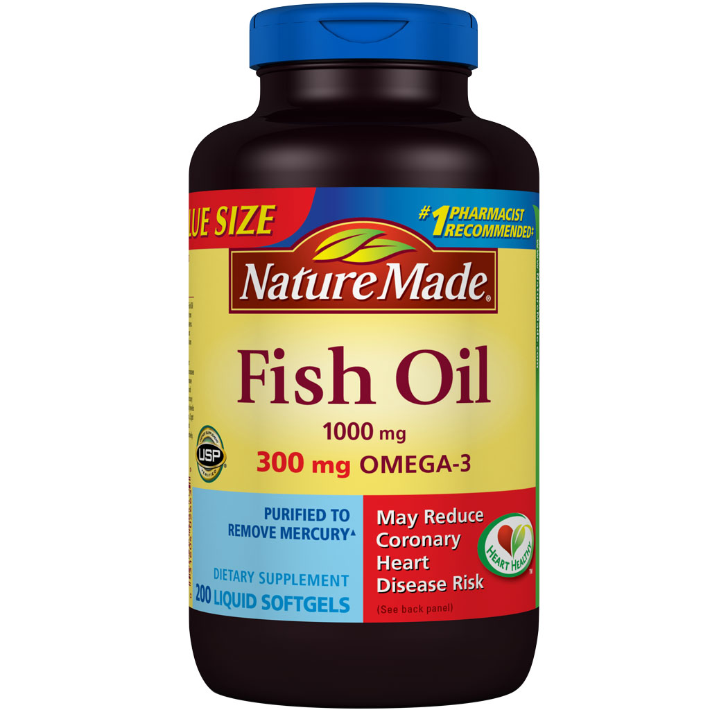 Nature made fish oil 1000 mg value size for Nature made fish oil 1000 mg