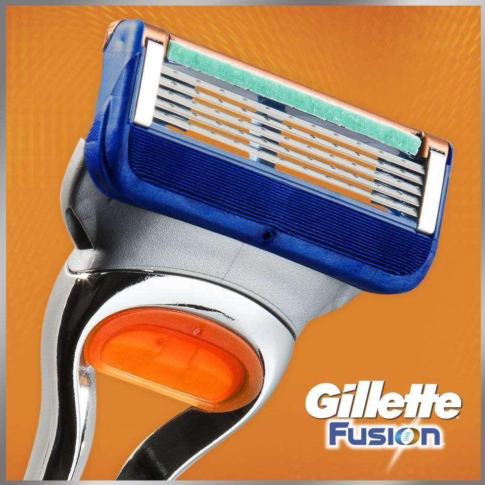 Amazon Com Gillette Fusion Manual Men S Razor Blade