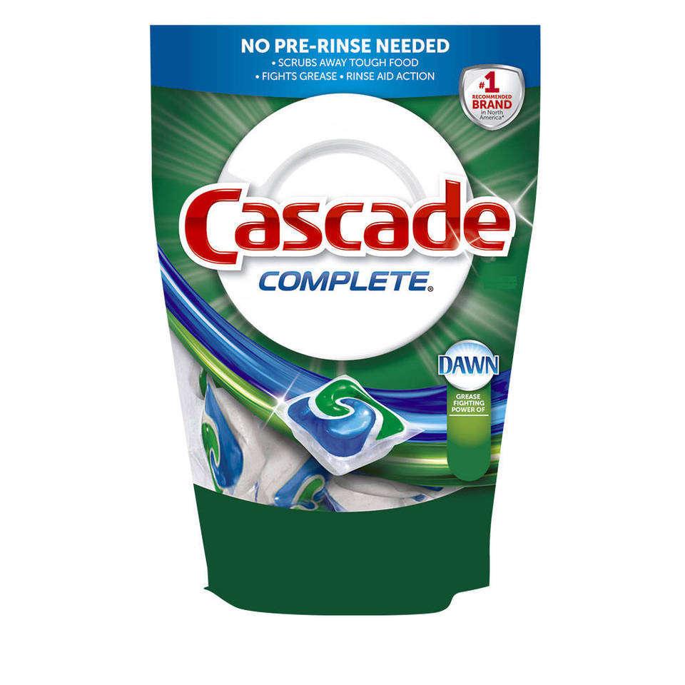 Amazon.com : Cascade Gel Dishwasher Detergent, Fresh Scent