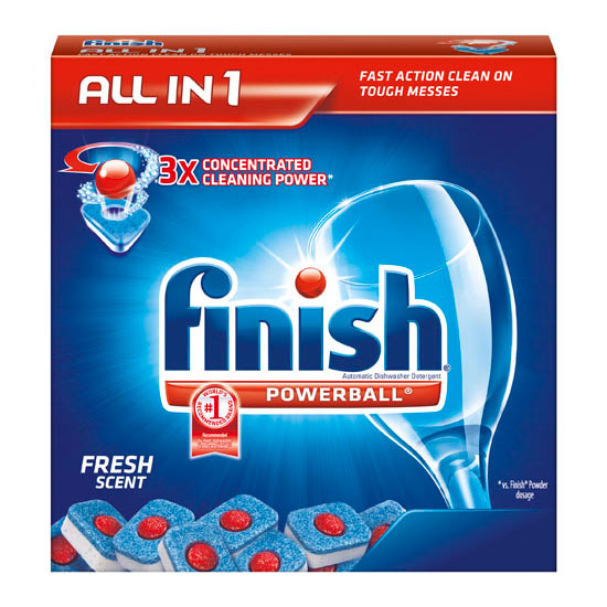 Amazon Com Finish Powerball Tabs Dishwasher Detergent