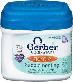 Gerber Good Start Gentle for Supplementing Formula